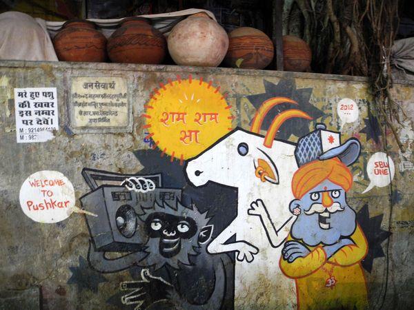 street_art_Pushkar