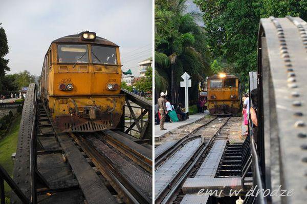 pociąg kanchanaburi